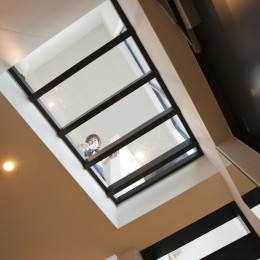 大収納狭小住宅 ハコノオウチ07 (玄関の天井)