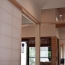 IThouseの写真 玄関から居室を見ています