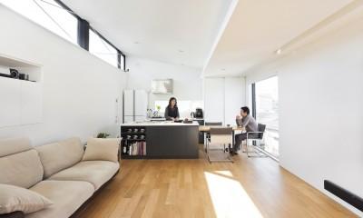 ハコノオウチ05 ルーフバルコニーのある二世帯住宅 (3階のリビング)