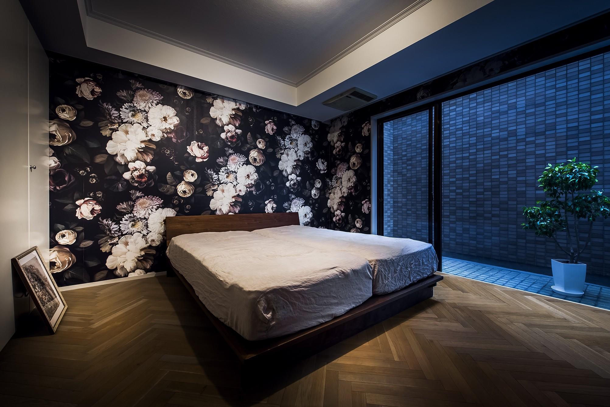 リビングダイニング事例:ベッドルーム(House in Shimo-ochiai)