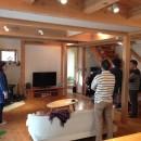 さくら 〜薪ストーブのある木の家〜の写真 リビング