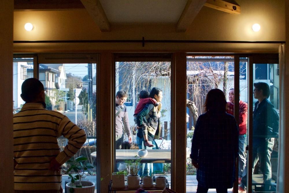 新田浩司「さくら 〜薪ストーブのある木の家〜」