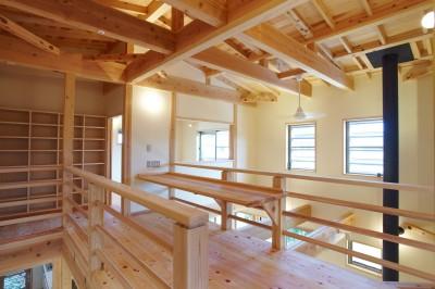 フリースペース・多目的スペース (さくら 〜薪ストーブのある木の家〜)