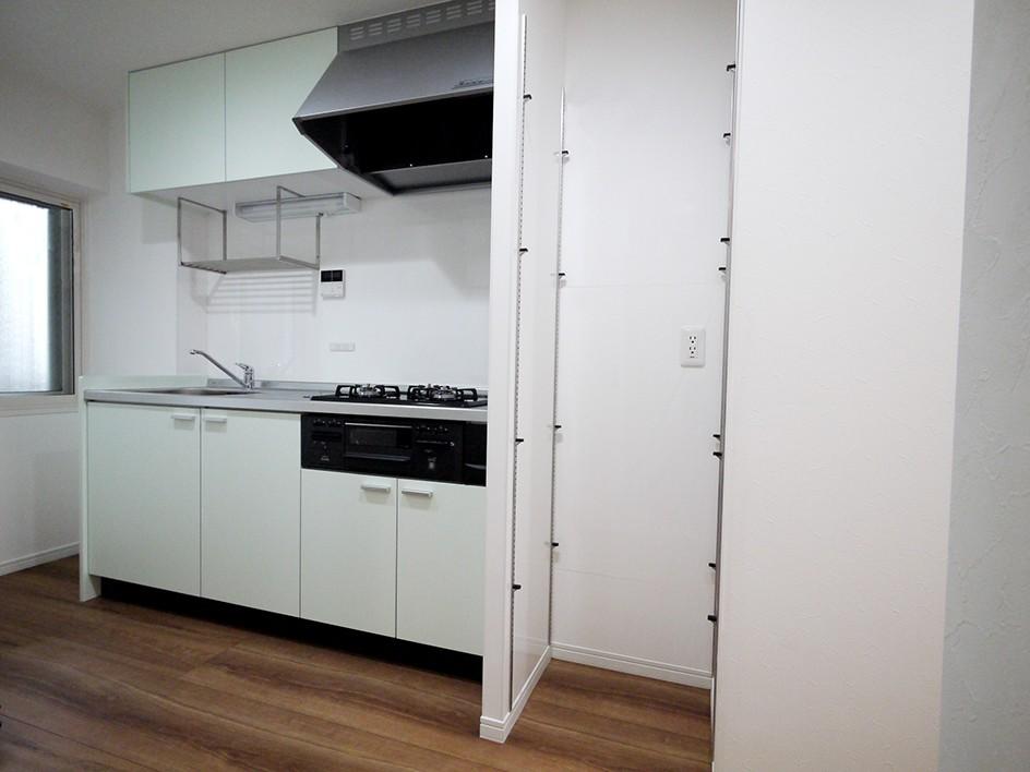 下町の1Kマンション (キッチン)