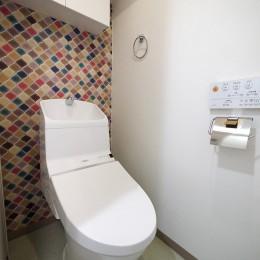 下町の1Kマンション (トイレ)