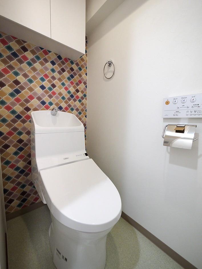バス/トイレ事例:トイレ(下町の1Kマンション)