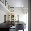古谷野工務店の住宅事例「東大宮の家-趣味を楽しむためのモダンな住空間」