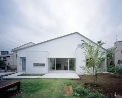 東大宮の家-趣味を楽しむためのモダンな住空間 (外観)