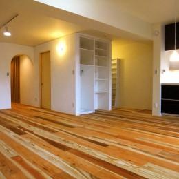 Edelweiss renovation 〜 ふたり暮らしのリノベーション 〜 (リビングダイニングキッチン01)