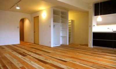 リビングダイニングキッチン01|Edelweiss renovation 〜 ふたり暮らしのリノベーション 〜