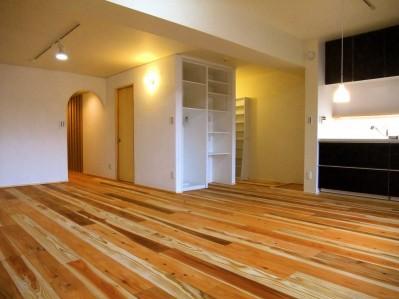 リビングダイニングキッチン01 (Edelweiss renovation 〜 ふたり暮らしのリノベーション 〜)