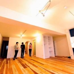 リビングダイニングキッチン02 (Edelweiss renovation 〜 ふたり暮らしのリノベーション 〜)