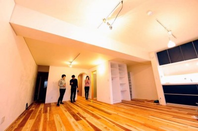 Edelweiss renovation 〜 ふたり暮らしのリノベーション 〜 (リビングダイニングキッチン02)