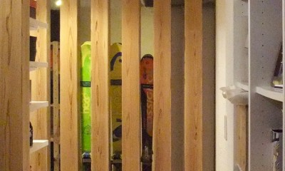 Edelweiss renovation 〜 ふたり暮らしのリノベーション 〜 (玄関廻り04)