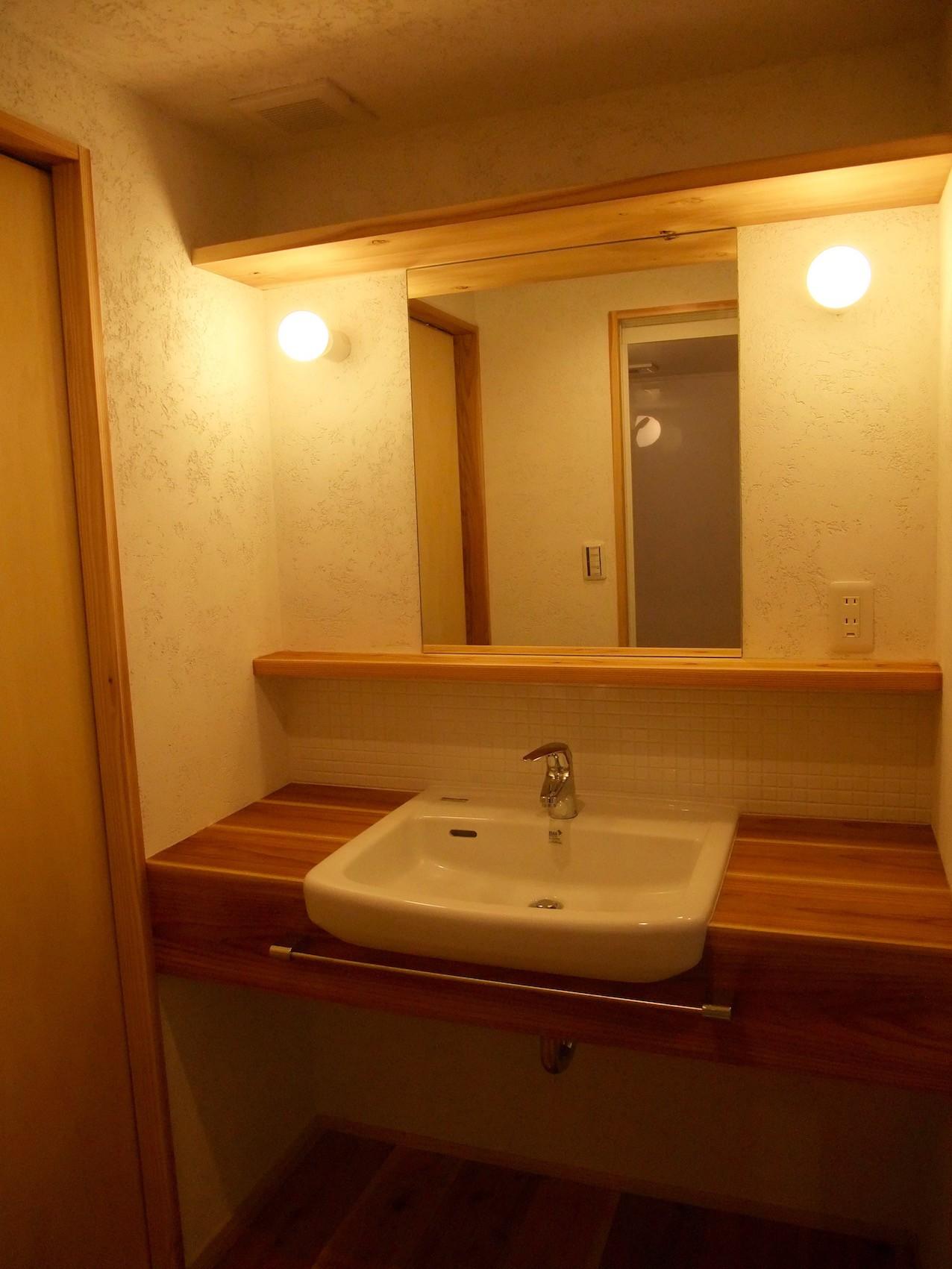 バス/トイレ事例:オーダー洗面カウンター01(Edelweiss renovation 〜 ふたり暮らしのリノベーション 〜)