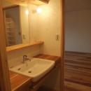 Edelweiss renovation 〜 ふたり暮らしのリノベーション 〜の写真 オーダー洗面カウンター02