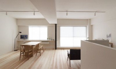 百合ヶ丘の家-ライフスタイルに合わせたひと続きの空間