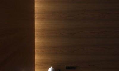 百合ヶ丘の家-ライフスタイルに合わせたひと続きの空間 (ベッドスペース)