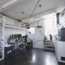 ミッドセンチュリーテイスト 成城にてゆったりと住まうの写真 屋上の主人専用書斎