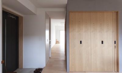 西荻の家-眺望と回遊性のある住まい