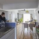 H邸-郊外の72.5平米マンションで、「今」を楽しむの写真 ダイニングキッチン