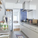 H邸-郊外の72.5平米マンションで、「今」を楽しむの写真 キッチン
