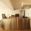 動線を追求した最上級の暮らしの写真 キッチン