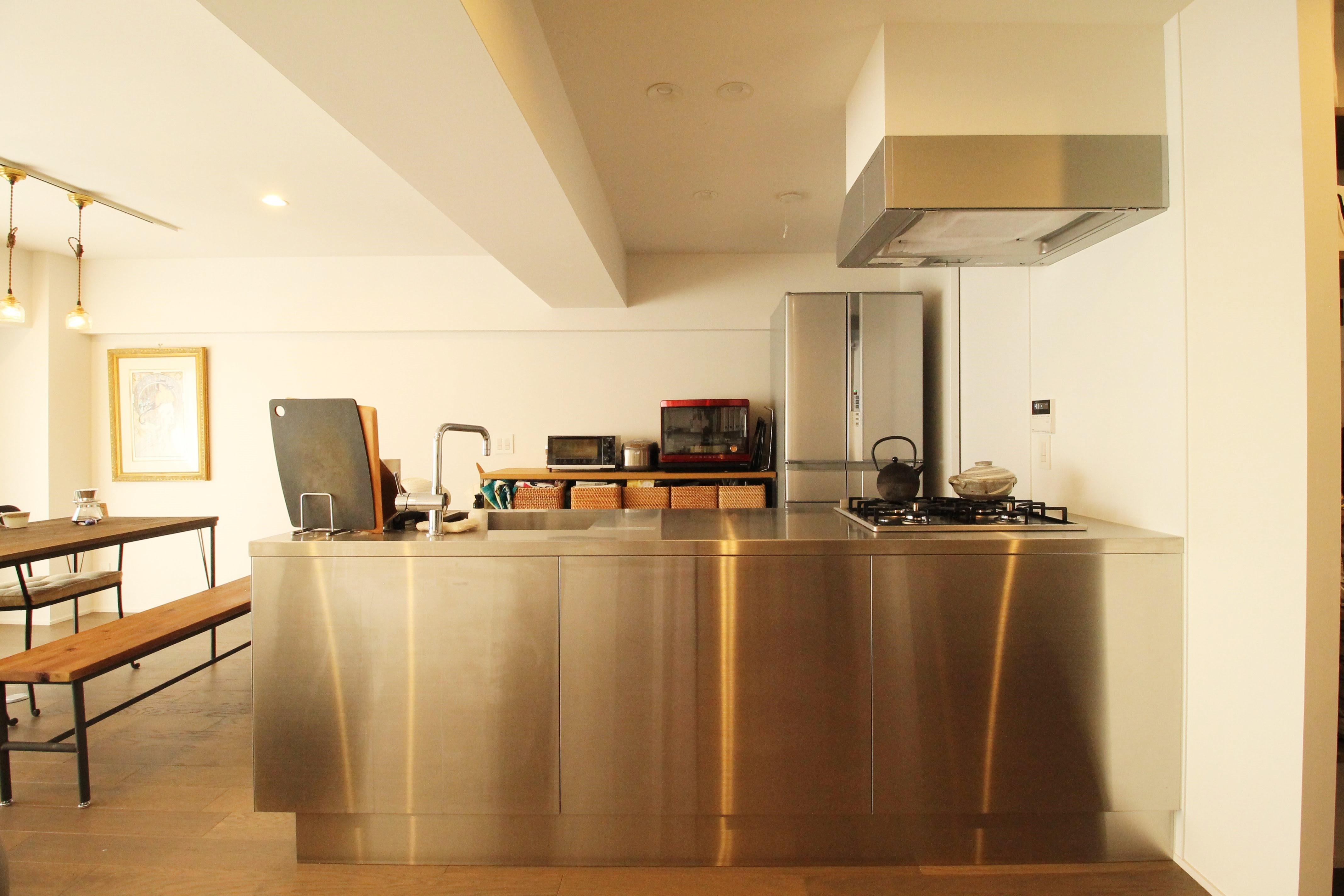 キッチン事例:キッチン(動線を追求した最上級の暮らし)