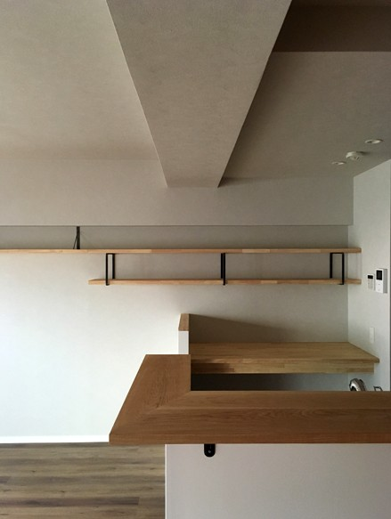 キッチン事例:キッチン(大井町の家-新たな生活に合わせた間仕切壁の更新)