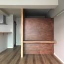 大井町の家-新たな生活に合わせた間仕切壁の更新の写真 書斎