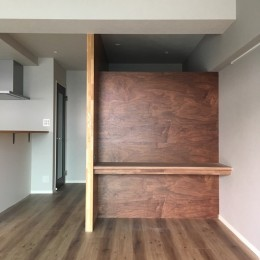大井町の家-新たな生活に合わせた間仕切壁の更新