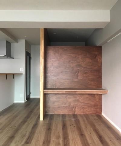 書斎 (大井町の家-新たな生活に合わせた間仕切壁の更新)