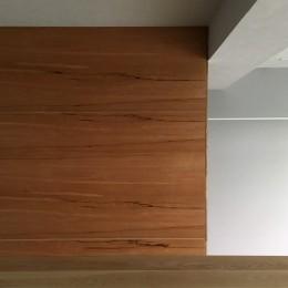 リビング (大井町の家-新たな生活に合わせた間仕切壁の更新)