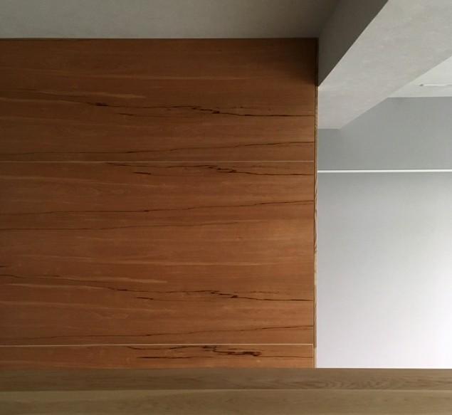 大井町の家-新たな生活に合わせた間仕切壁の更新 (リビング)