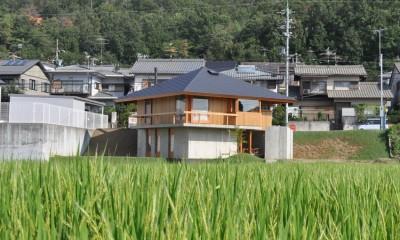 鵜沼の家 (遠景)