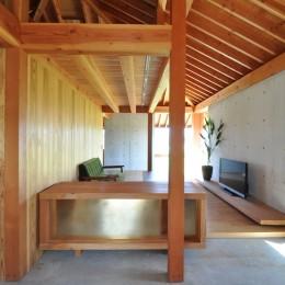 鵜沼の家 (玄関)