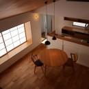 出窓の家の写真 ダイニングキッチン