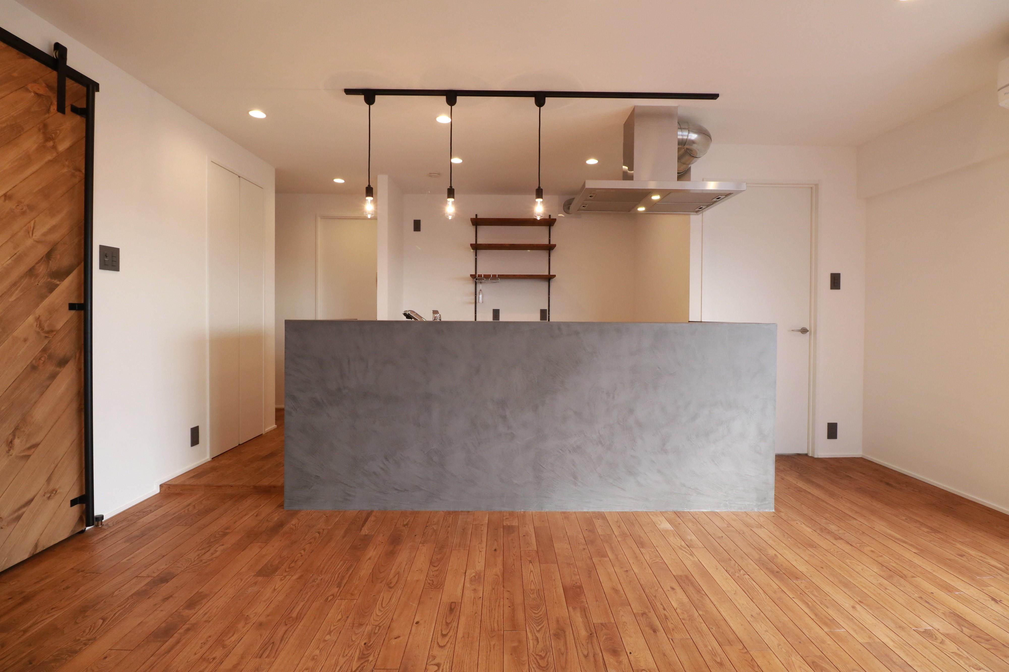キッチン事例:キッチン(家族の繋がりを感じるslow room)