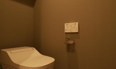 家族の繋がりを感じるslow room (トイレ)