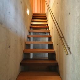 鵜沼の家 (階段)