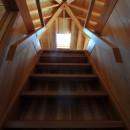 鵜沼の家の写真 屋根裏階段