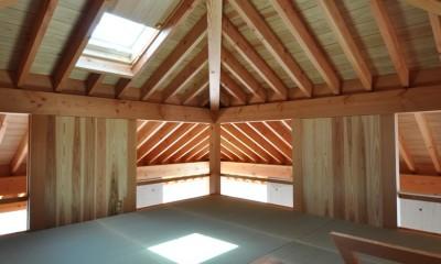 鵜沼の家 (屋根裏部屋)