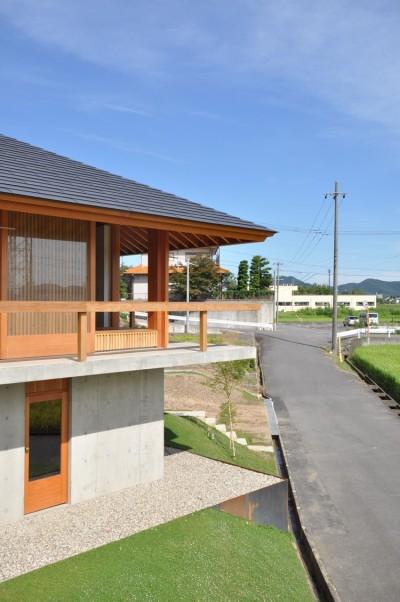 鵜沼の家 (西外観)