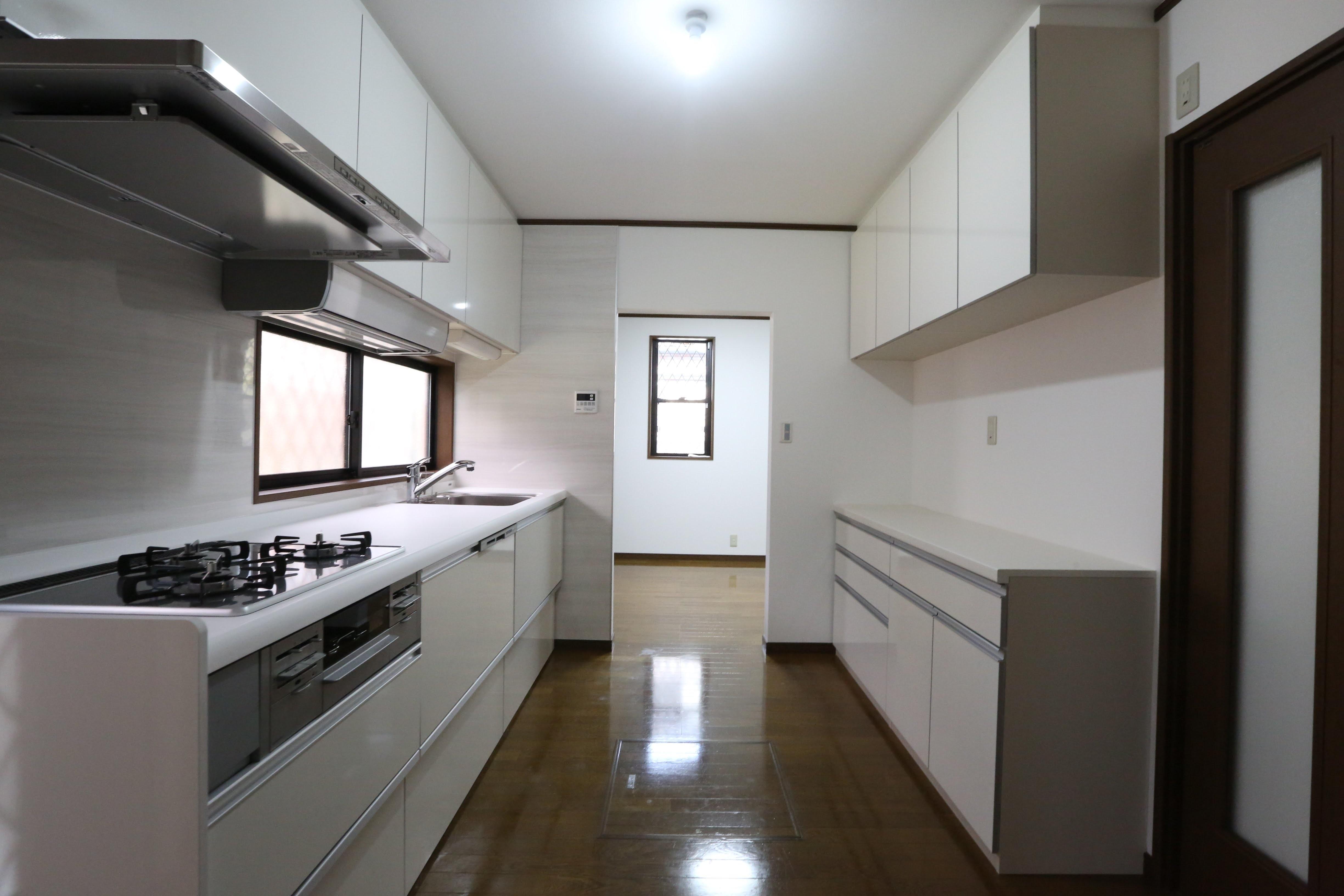 キッチン事例:キッチン(みよし市I様邸)