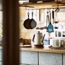音楽と料理が楽しめる家の写真 キッチンカウンター
