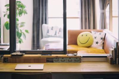 書斎 (音楽と料理が楽しめる家)