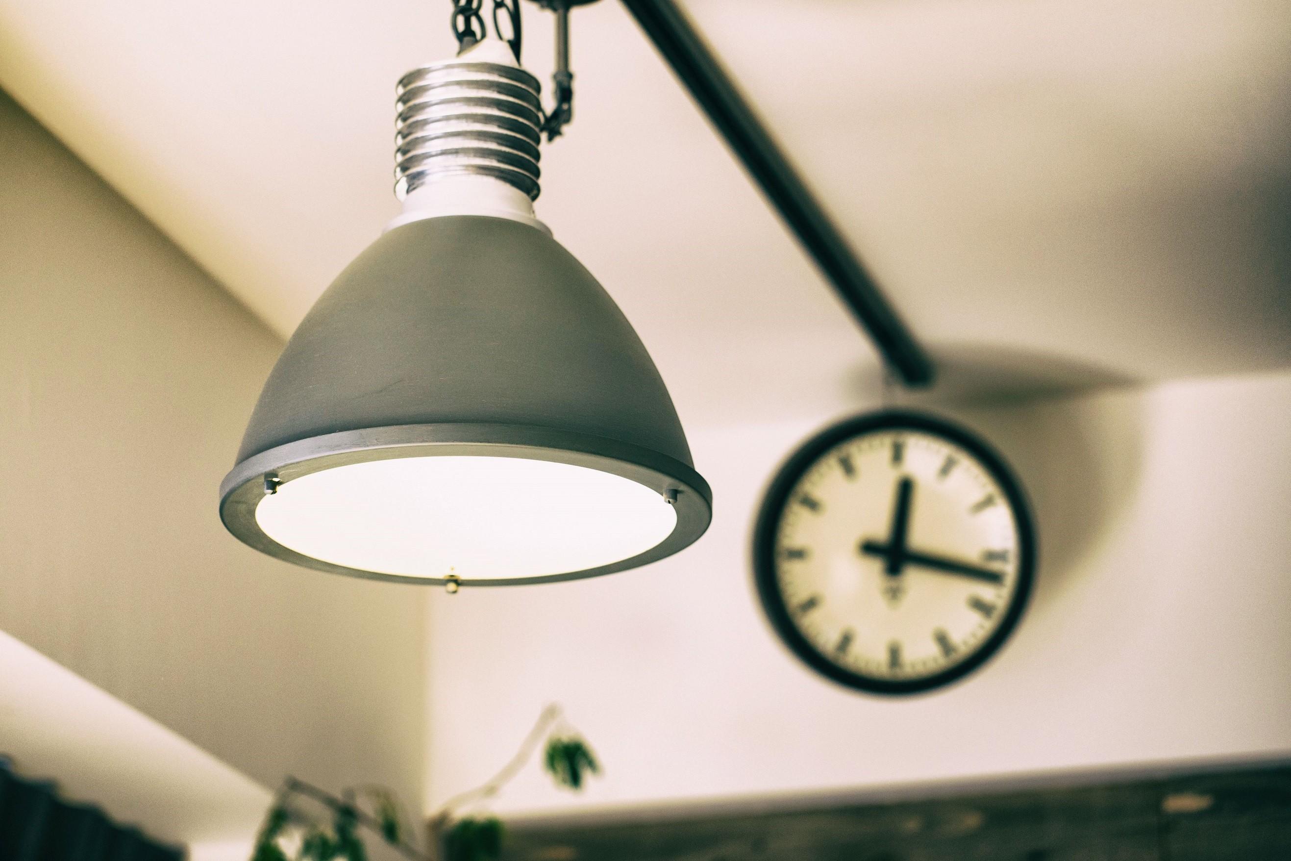 その他事例:照明と時計(名古屋市東区S様邸)