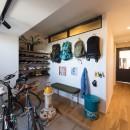 音楽と料理が楽しめる家の写真 玄関土間