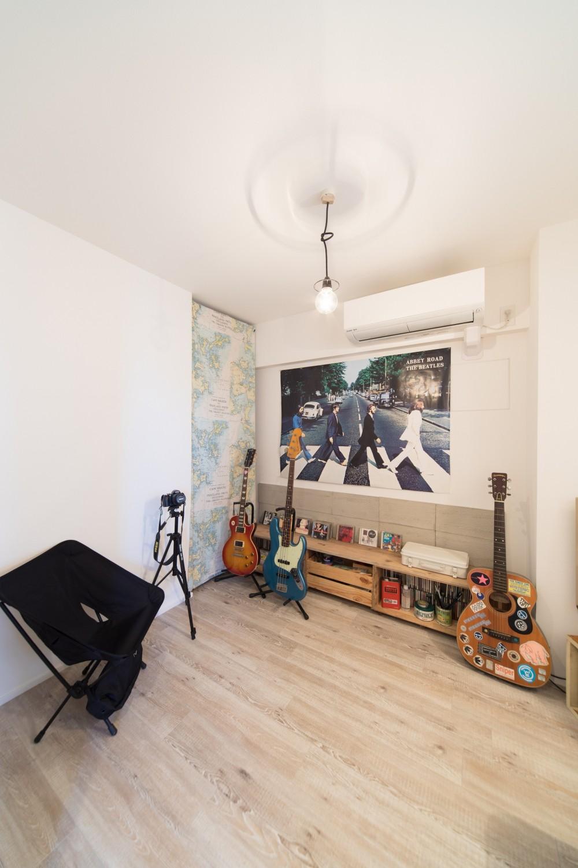 音楽と料理が楽しめる家 (趣味の部屋)