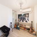音楽と料理が楽しめる家の写真 趣味の部屋